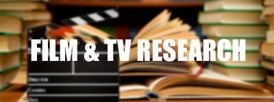 Film and Tv Research
